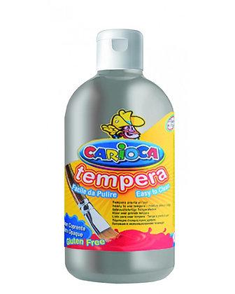 Carioca Tempera Suluboya Süper Yıkanabilir Gümüş 500 Ml.