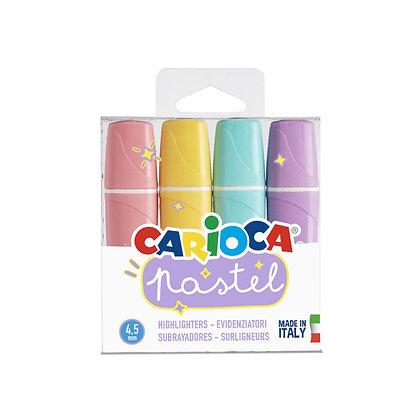 Carioca Pastel Renk İşaretleme Kalemi 4'lü