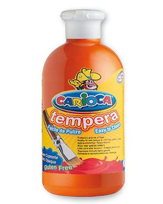 Carioca Tempera Suluboya Süper Yıkanabilir Turuncu 500 Ml.