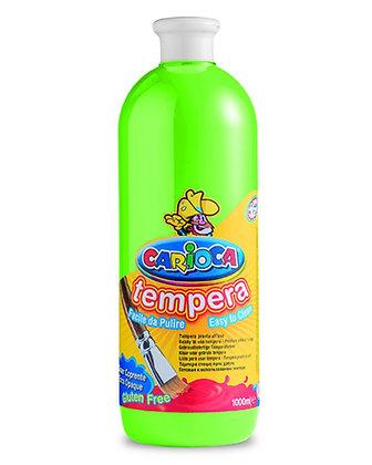 Carioca Tempera Suluboya Süper Yıkanabilir Açık Yeşil 1000 Ml.