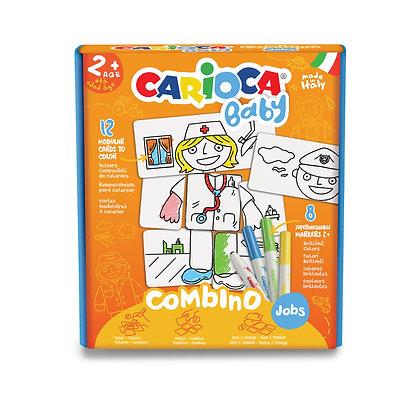 Carioca Bebek Puzzle Meslekler +2 Yaş (8 Ad. Bebek Keçeli)