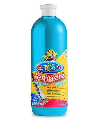 Carioca Tempera Suluboya Süper Yıkanabilir Mavi 1000 Ml.
