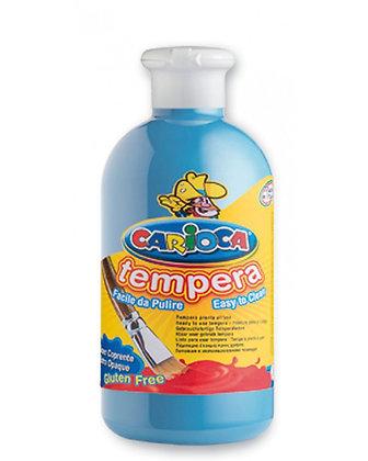 Carioca Tempera Suluboya Süper Yıkanabilir Açık Mavi 500 Ml.