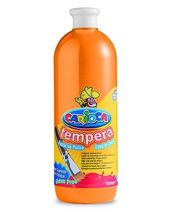 Carioca Tempera Suluboya Süper Yıkanabilir Turuncu 1000 Ml.