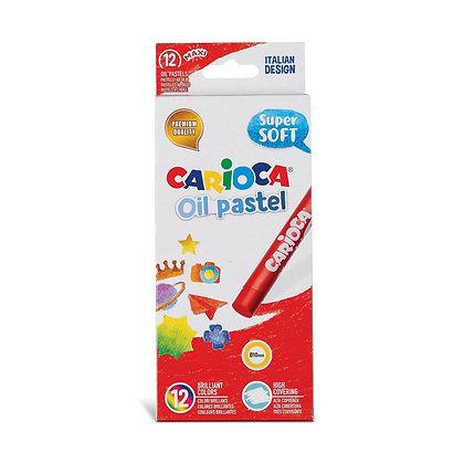 Carioca Yağlı Pastel Boya 12'li