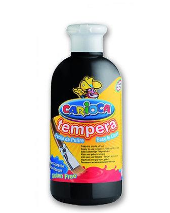 Carioca Tempera Suluboya Süper Yıkanabilir Siyah 250 Ml.