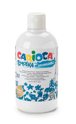Carioca Tempera Suluboya Süper Yıkanabilir Beyaz 500 Ml.