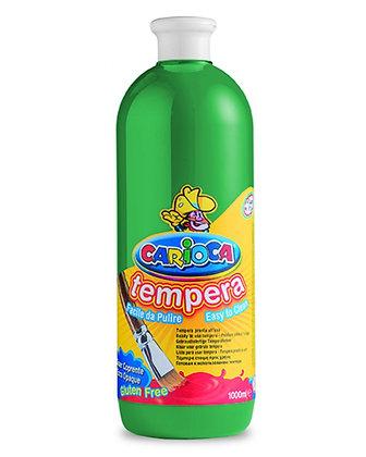Carioca Tempera Suluboya Süper Yıkanabilir Yeşil 1000 Ml.