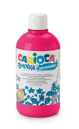 Carioca Tempera Suluboya Süper Yıkanabilir Fuşya 500 Ml.