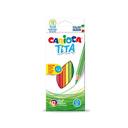 Carioca Tita Kuru Boya Kalemi 12'Li