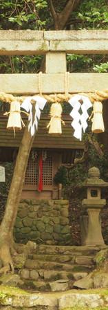 三森神社全景