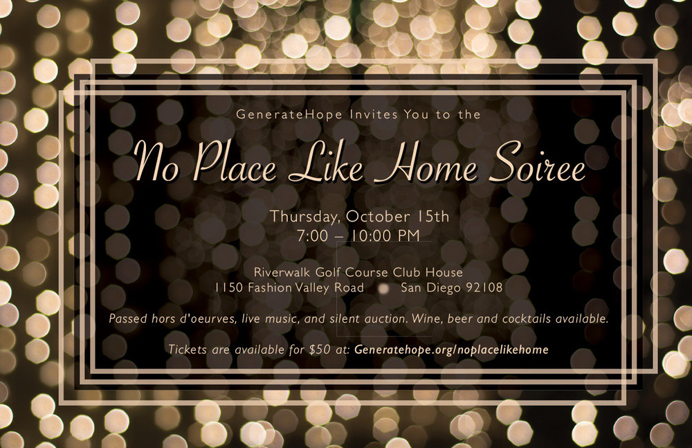 GenerateHope No Place Like Home Soiree