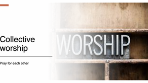 Collective Worship 13th January 2021