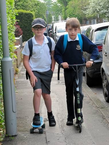 skateboard & scooter journeys