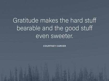 Grateful...