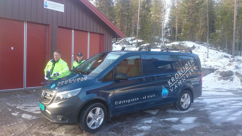 Thore Halvorsrud og Stafan Johansson