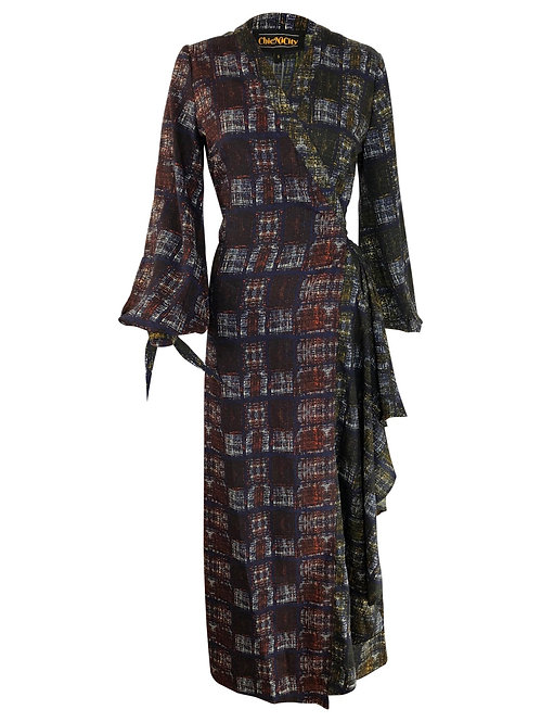 ISIE Wrap Dress