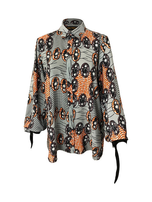 RENI SHIRT WITH FIN SLEEVES