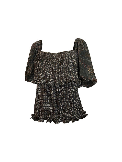 LONIE Pleated Top