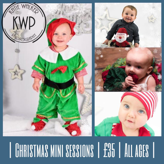 Christmas mini sessions are almost sold out!