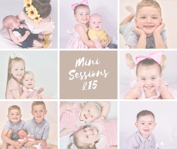 Mini sessions! July 25th! £15