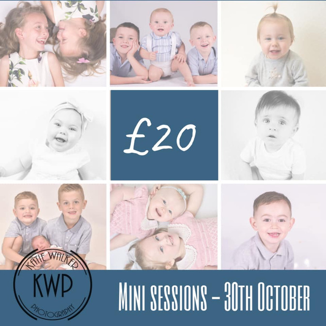 Last mini sessions of the year!