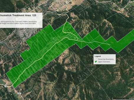Special wildfire reduction offer for folks in Eagle Creek and Little Chumstick