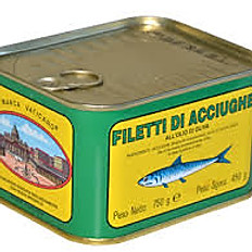 294 Filetti di Alici all'olio Ansjoser i olie