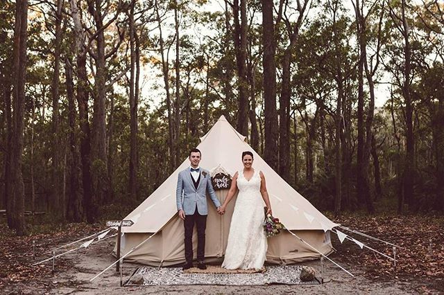 Luxe Bridal Suite/Honeymoon Suite & Luxe Bridal Suite/Honeymoon Suite | Glamping Jervis Bay ...