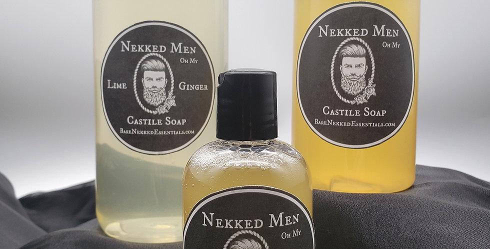 Nekked Men Castile Soap