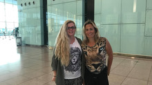 My time in Barcelona with my beautiful friend Montserrat ( Rothorm Kennel ) has come to an end. Than