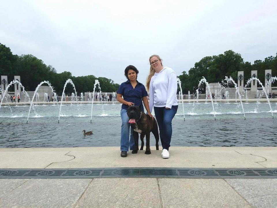 Sharon Sintra, Ivy League Axel and I in Washington DC