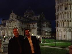 With Marcin Dylla in Pisa... ;D