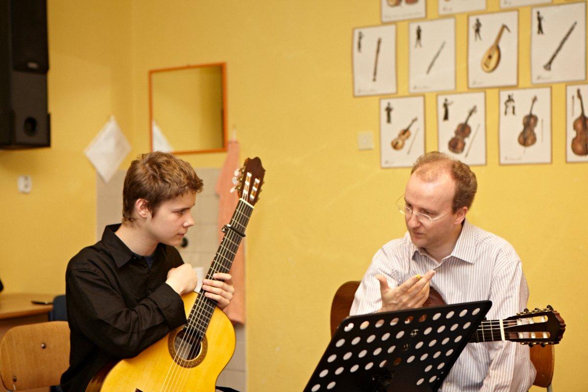 Teaching in Mikulov 2012