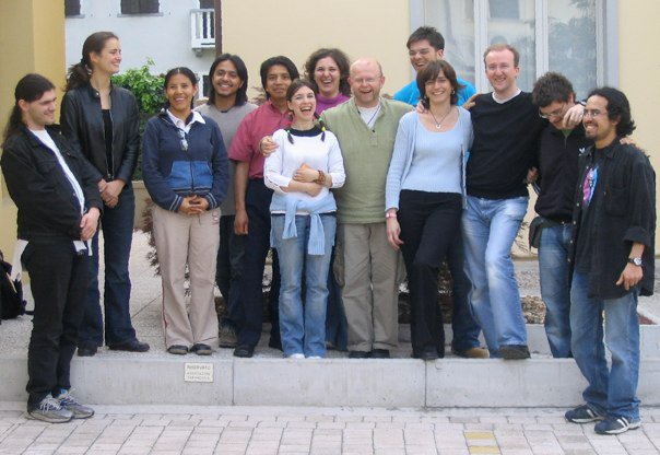With Pavel Steidl and students