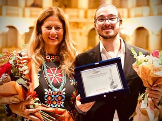 Georgi Dimitrov first prize at Biasini Competition