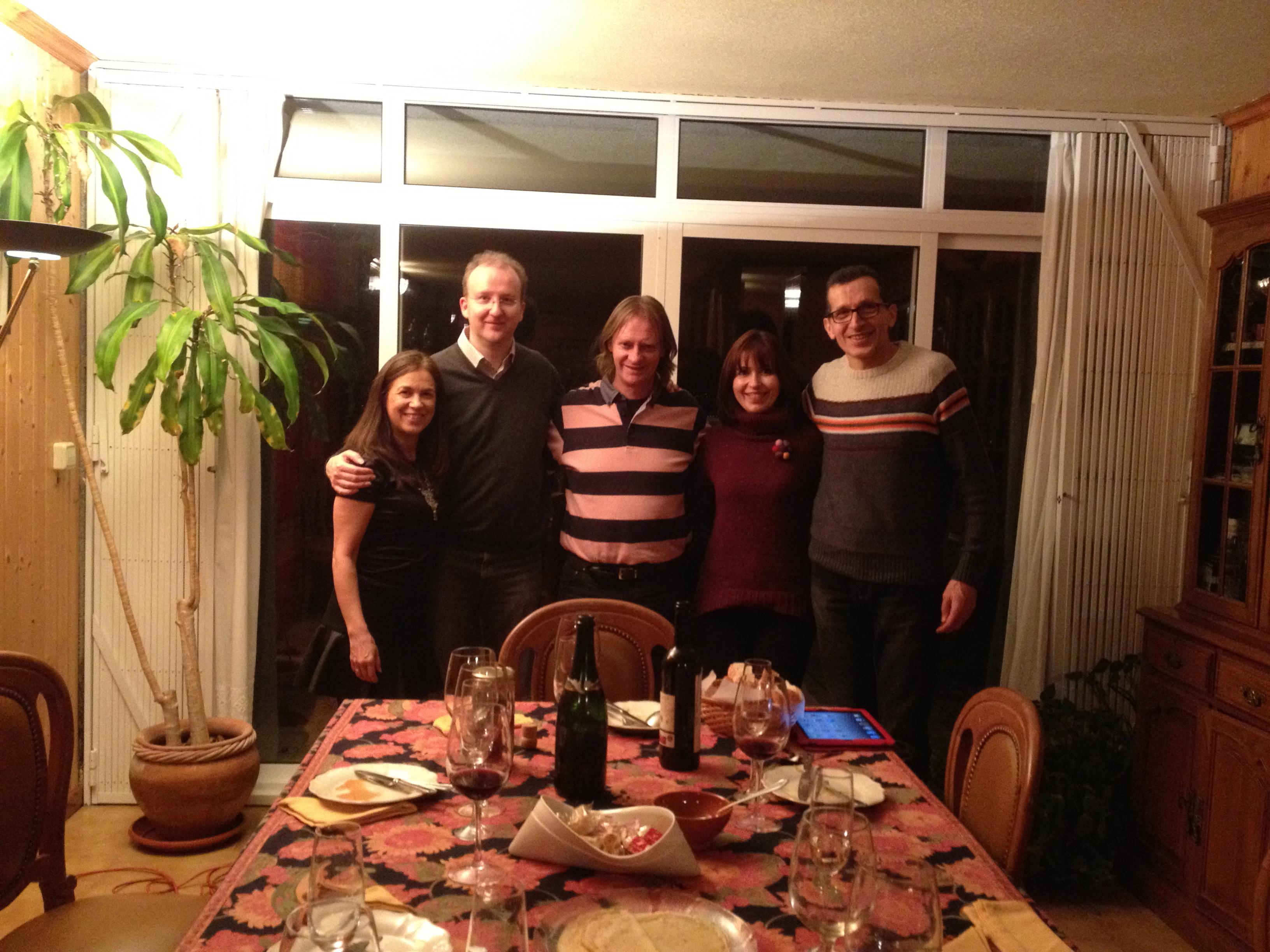 David, Maria, Roman and Margarita