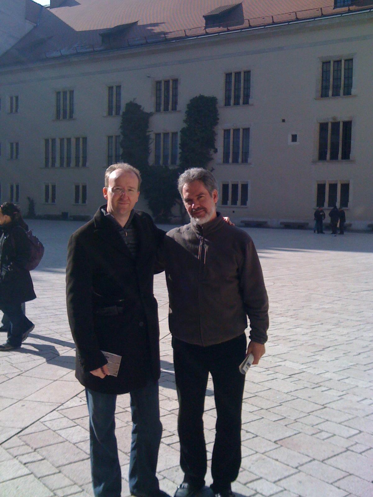 With Paul Galbraith