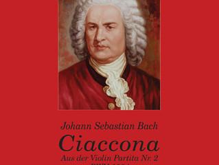 Bach's Ciaccona published by Chanterelle and Allegra Verlag