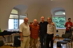 Martin, Stefan and Pavel at Kug