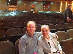With Ricardo Gallen