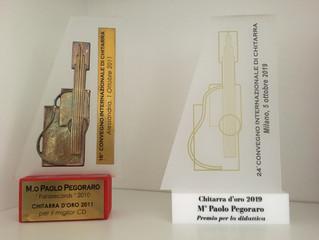 Chitarra d'oro per la didattica, Milano 2019
