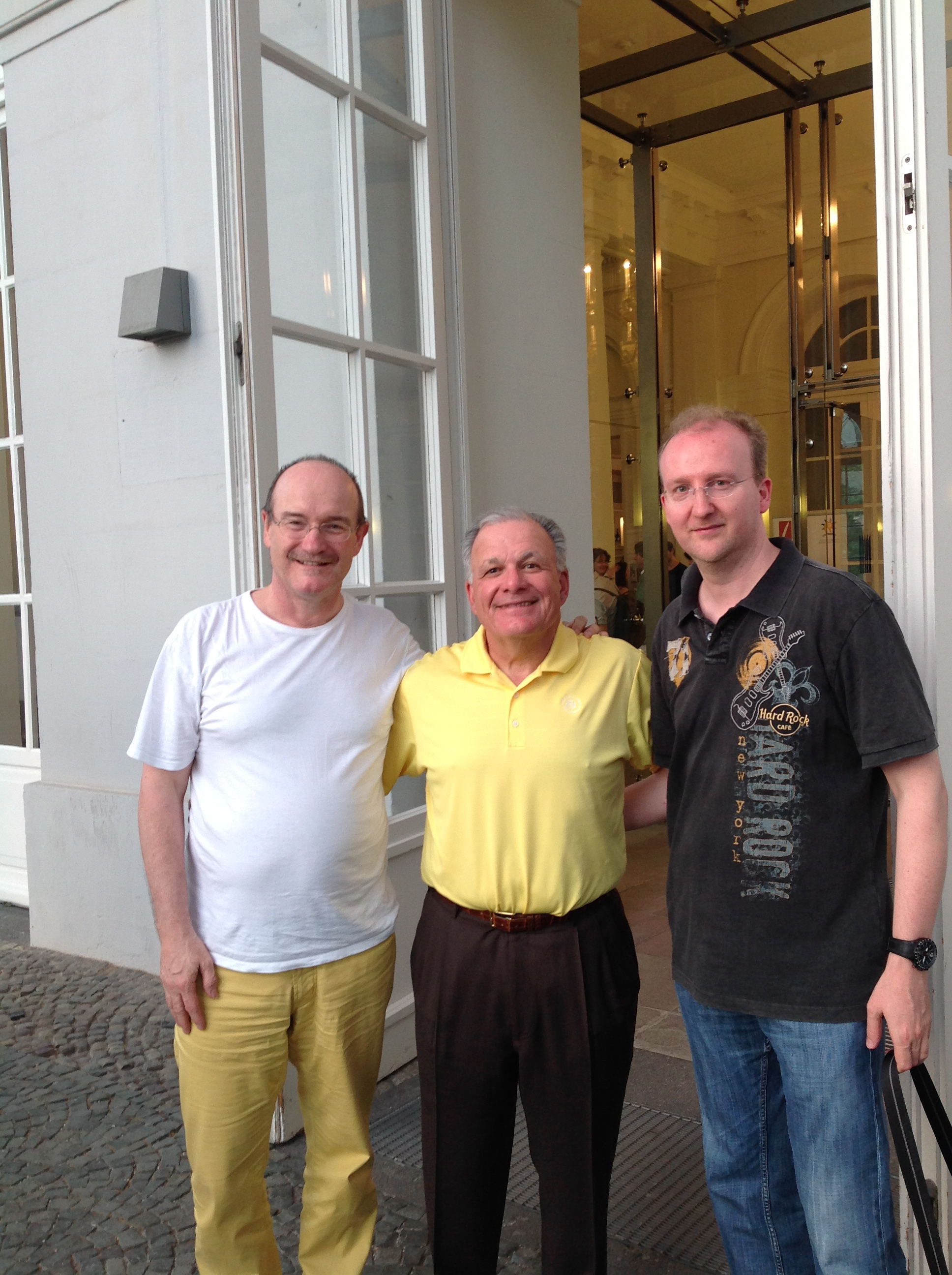 With John D'Addario and Thomas