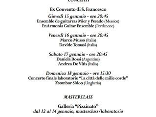 Program Segovia Guitar Week