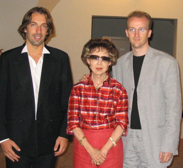 Dona Emilita Segovia and Adriano
