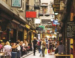 Located in the hear of Mebourne's City and bustling laneways