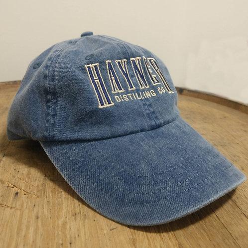 Hayner Baseball Cap - Blue Denim
