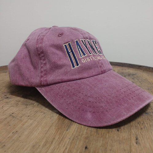 Hayner Baseball Cap - Pink