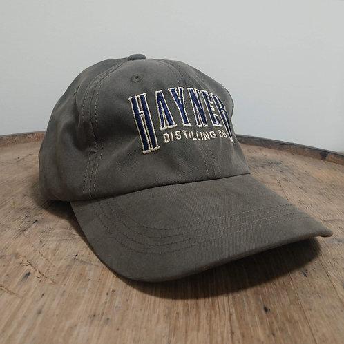 Hayner Baseball Cap - Dark Olive/Brown