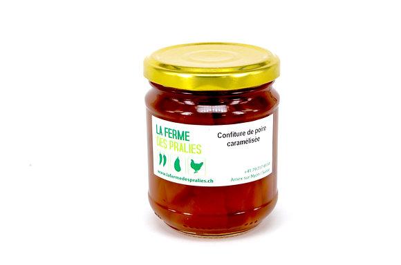 Confiture de poire caramélisée